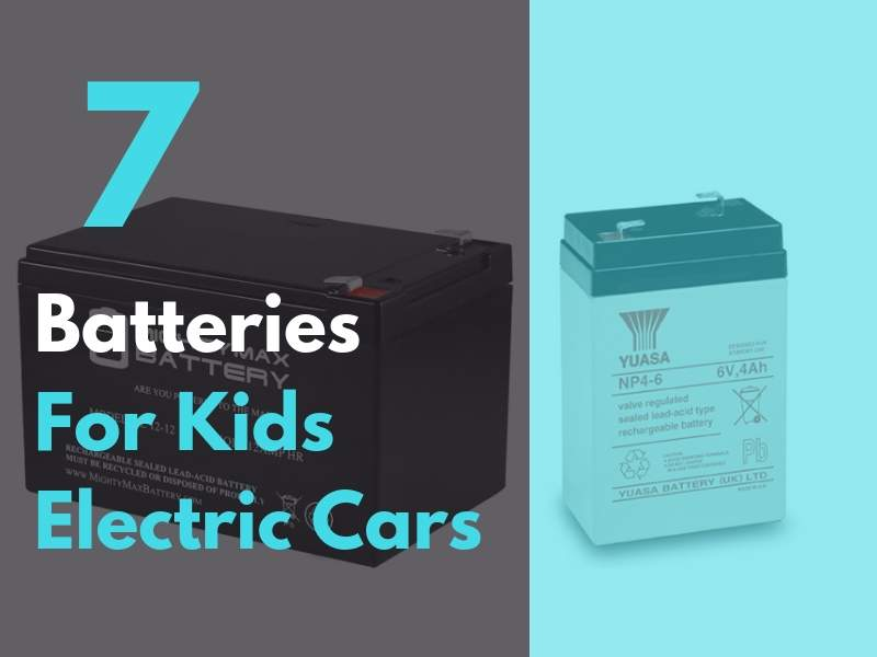 Kids Electric Car Battery